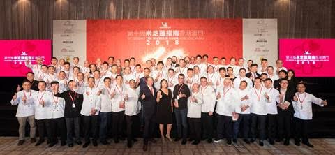 Macau Michelin Guide 2018 Celebrates Macau Gastronomic